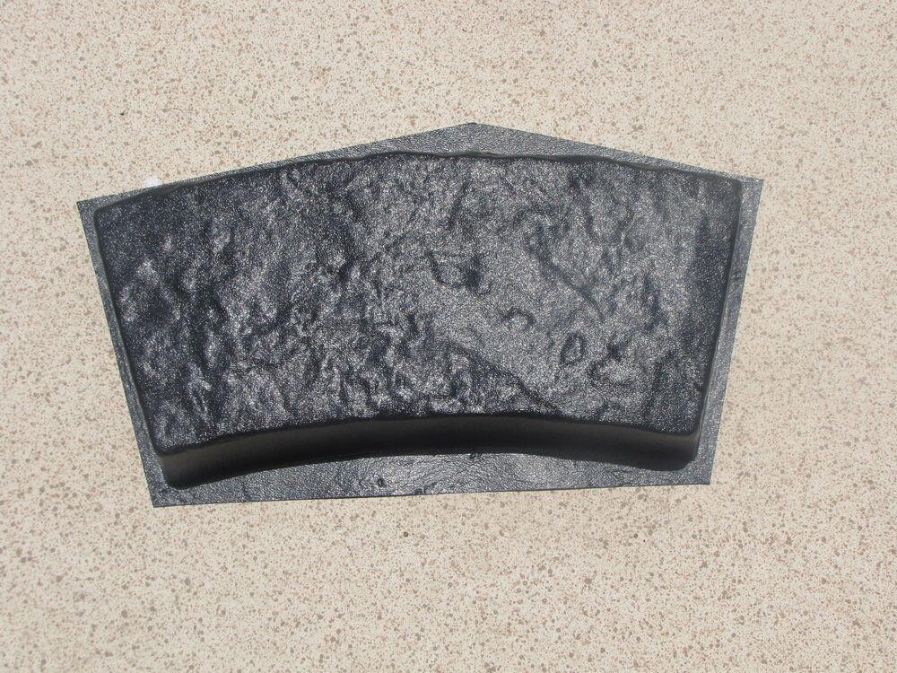 Concrete Landscape Edging Molds  4 CURVED GARDEN EDGING LAWN LANDSCAPE MOLDS SET TO MAKE