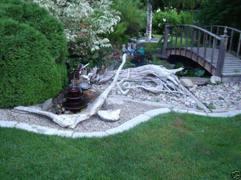 Concrete Landscape Edging Molds  4 MOLDS SUPPLIES CRAFT LARGE CONCRETE GARDEN EDGING