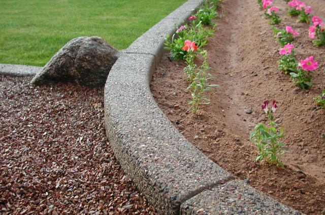 Concrete Landscape Edging Molds  Unique Concrete Landscape Edging Molds 6 Landscape