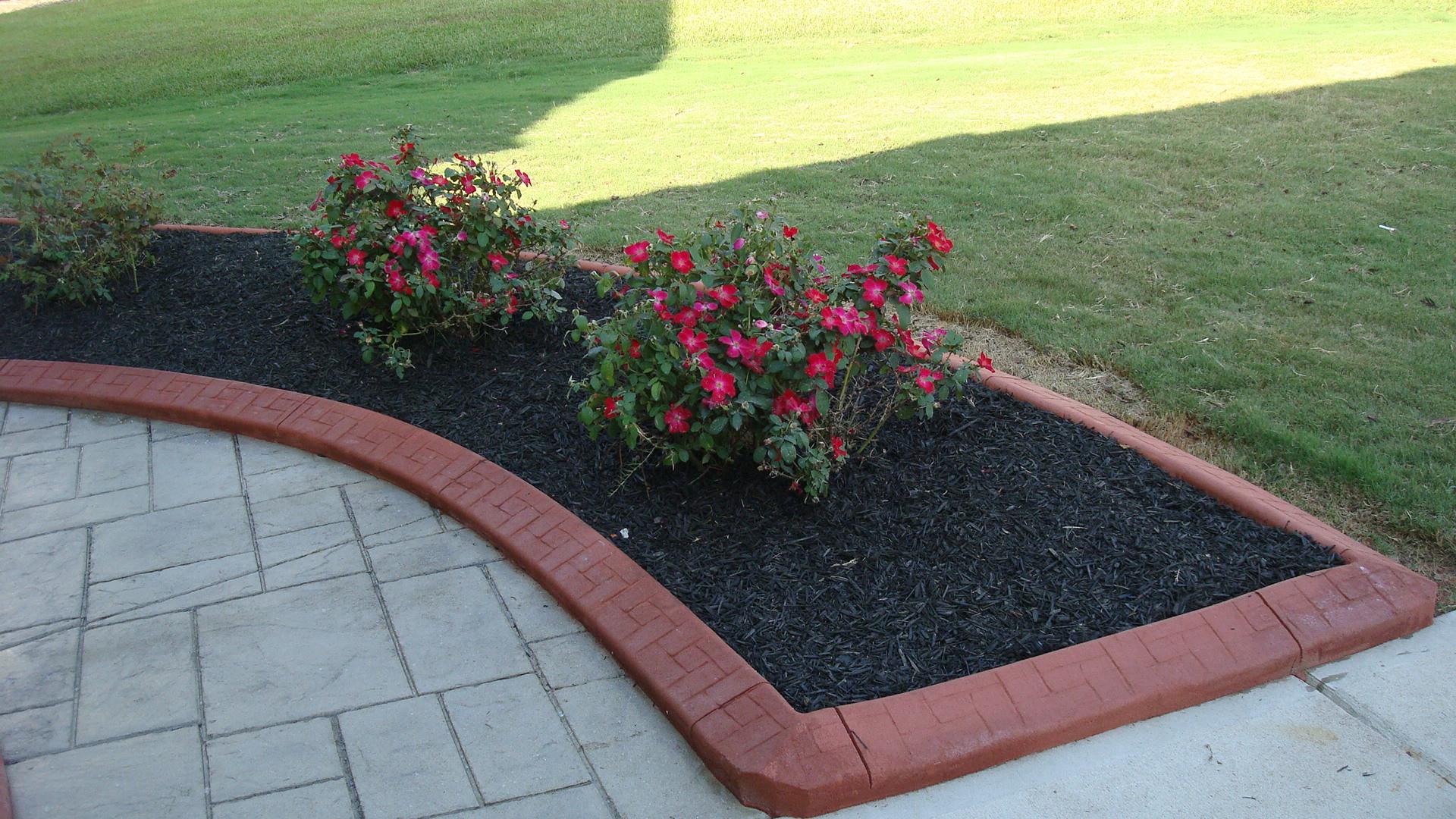 Concrete Landscape Edging Molds  Concrete Garden Edging Molds Outdoor Decorations