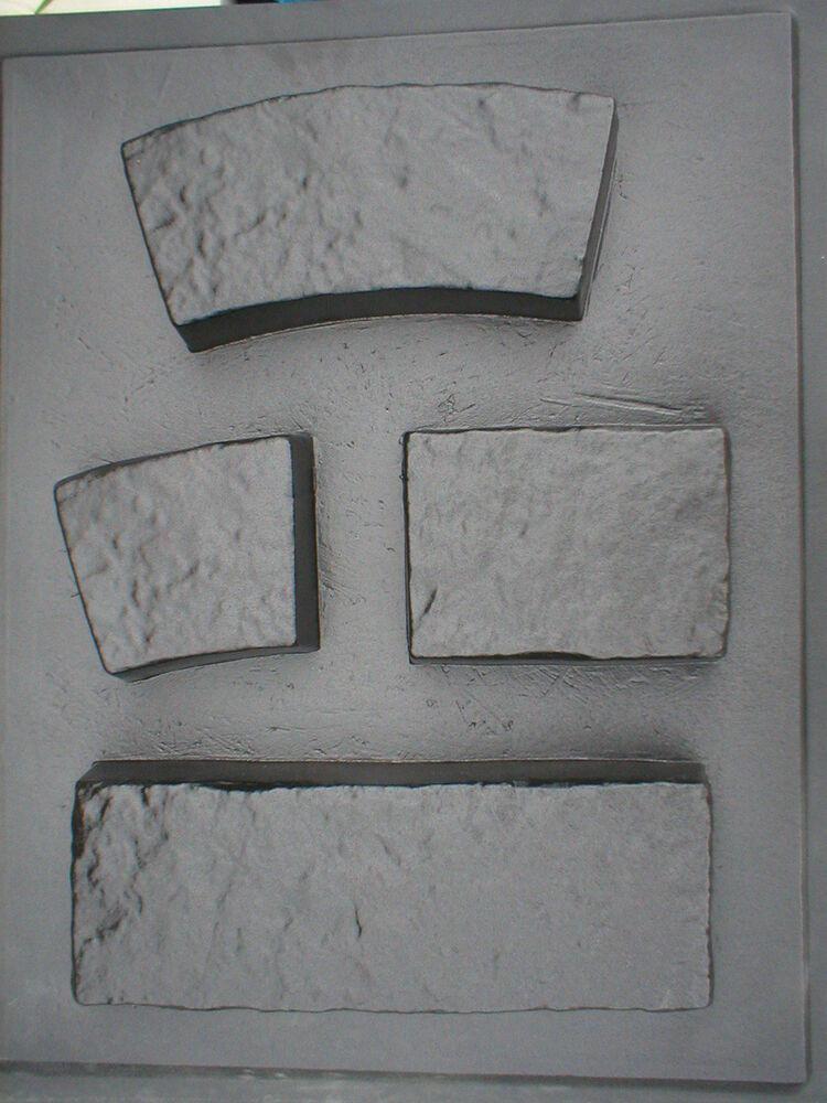 Concrete Landscape Edging Molds  4 THICK CONCRETE GARDEN EDGING LAWN LANDSCAPE MOLDS MAKE