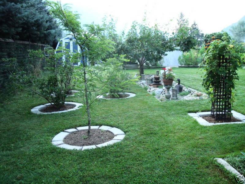 Concrete Landscape Edging Molds  4 LARGE MOLDS MAKE CONCRETE GARDEN EDGING & LAWN LANDSCAPE