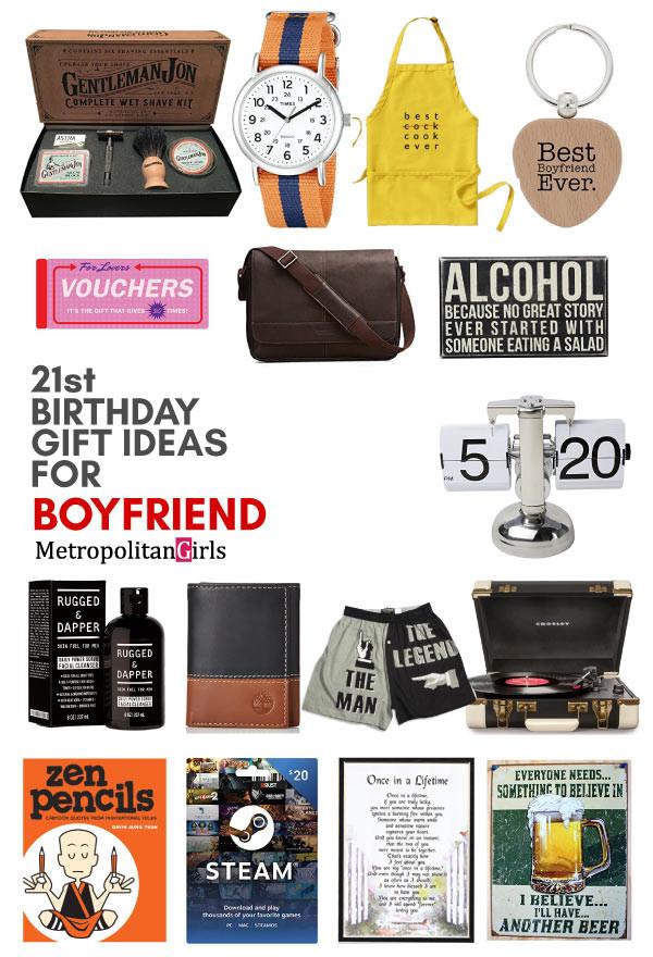 Cool Gift Ideas For Boyfriend  20 Best 21st Birthday Gifts for Your Boyfriend