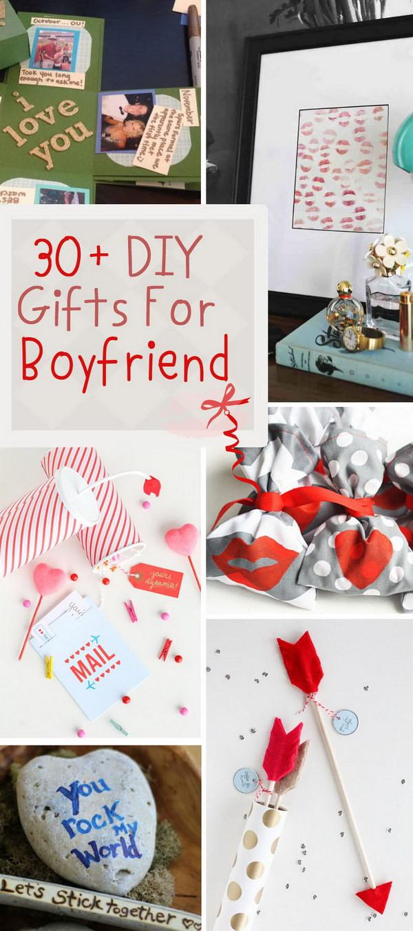 Cool Gift Ideas For Boyfriend  30 DIY Gifts For Boyfriend 2017