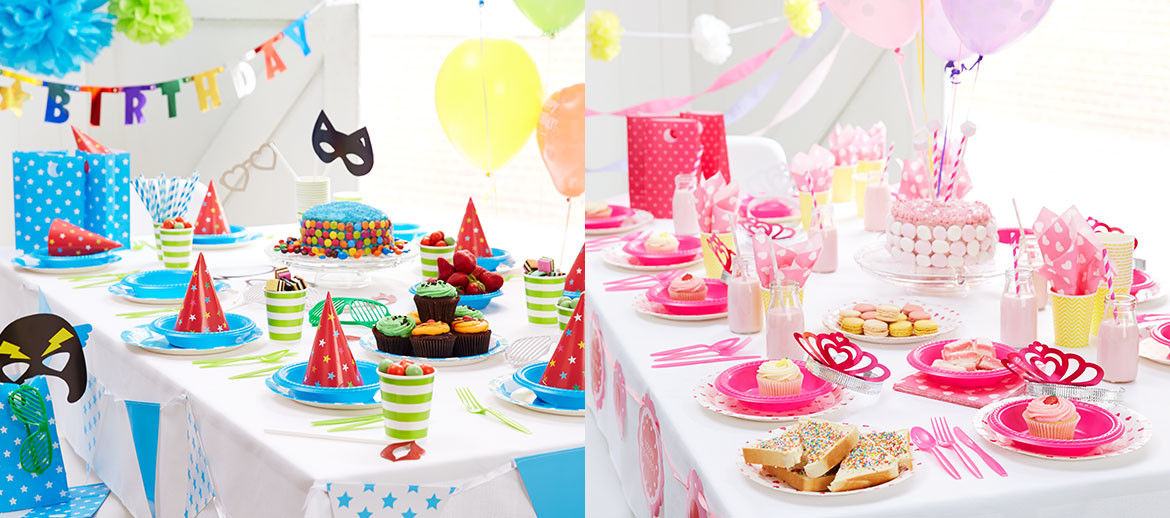 Cool Kids Party Ideas  colourful birthday ideas for kids Kmart