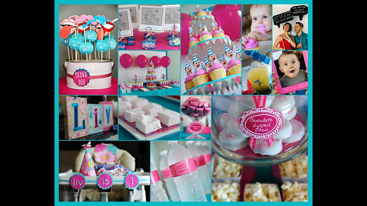 Cool Kids Party Ideas  first birthday party ideas 1st birthday party ideas