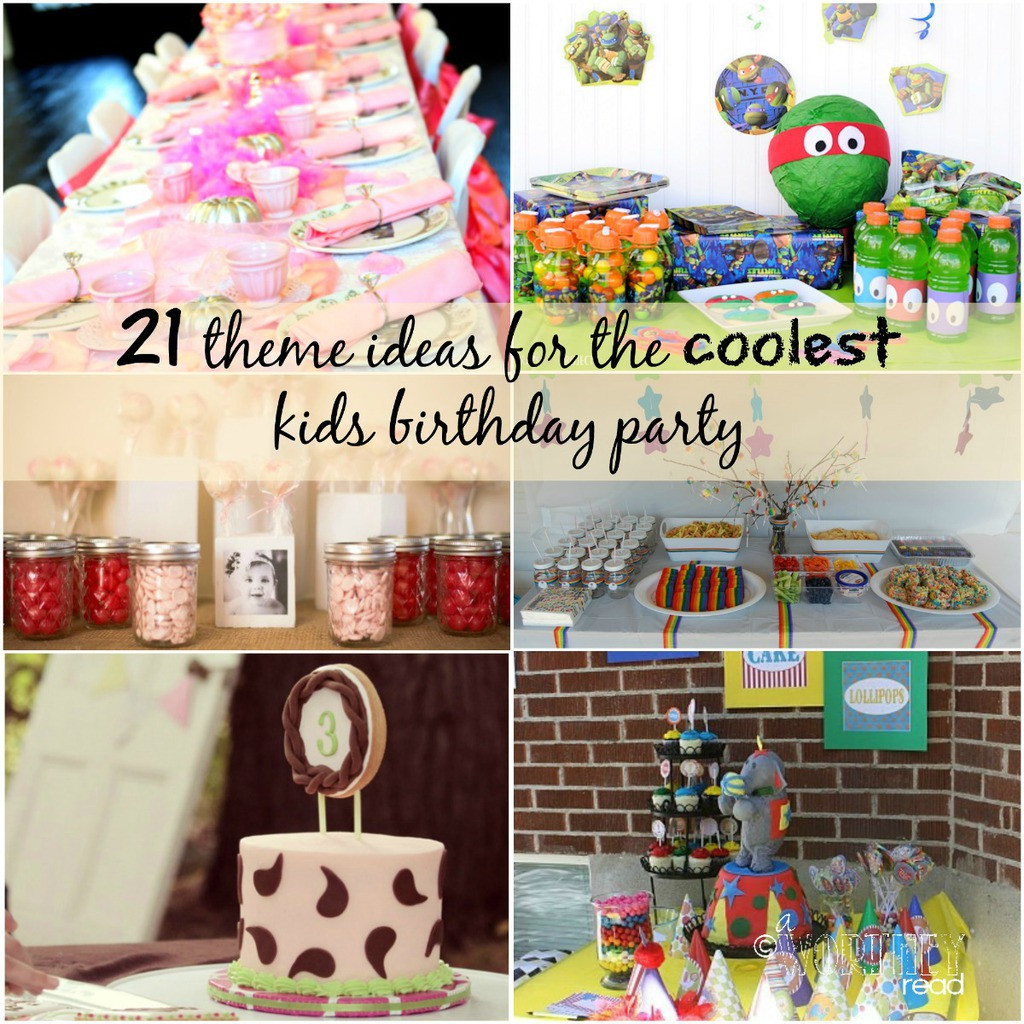 Cool Kids Party Ideas  21 Theme Ideas for the Coolest Kids Birthday Party