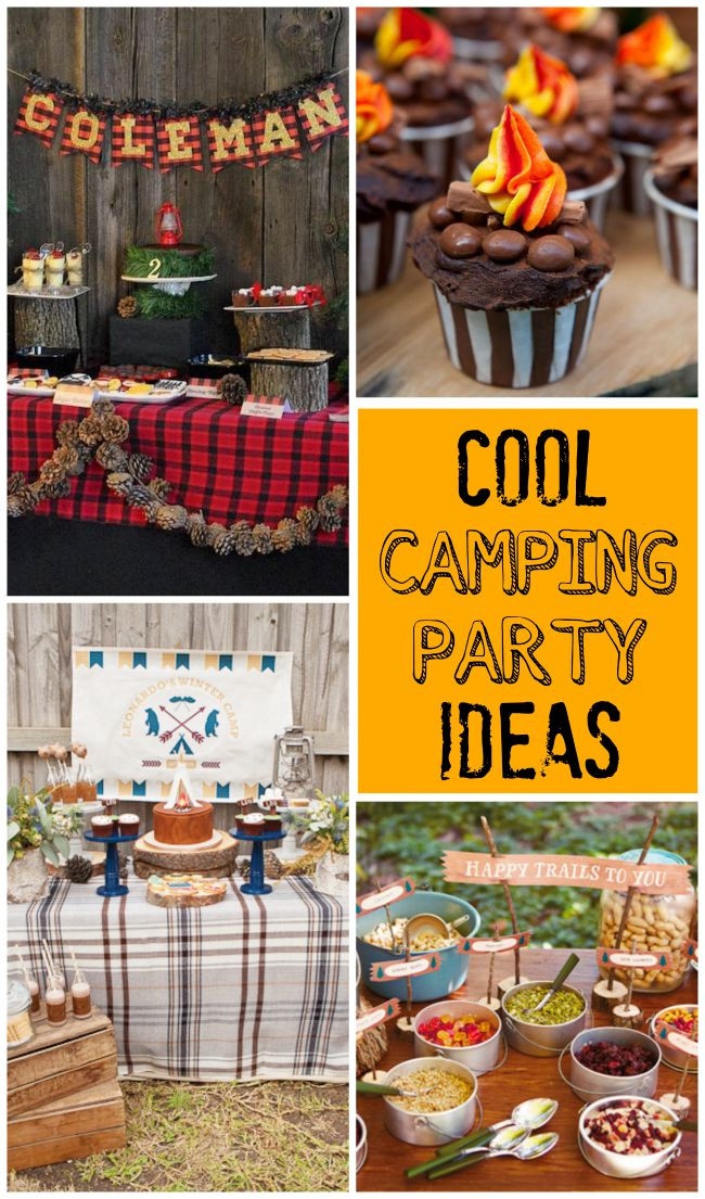Cool Kids Party Ideas  Camping Parties Design Dazzle