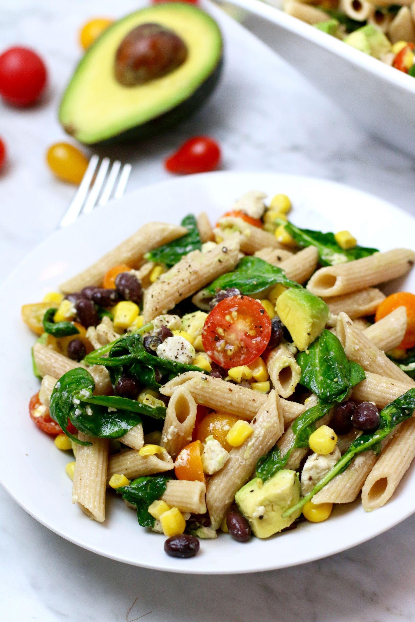 Corn Pasta Salad  Sweet Corn Pasta Salad Whitney E RD