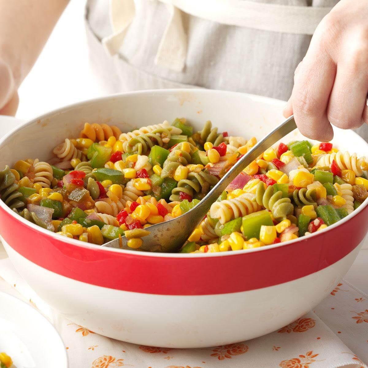 Corn Pasta Salad  Corn Pasta Salad Recipe
