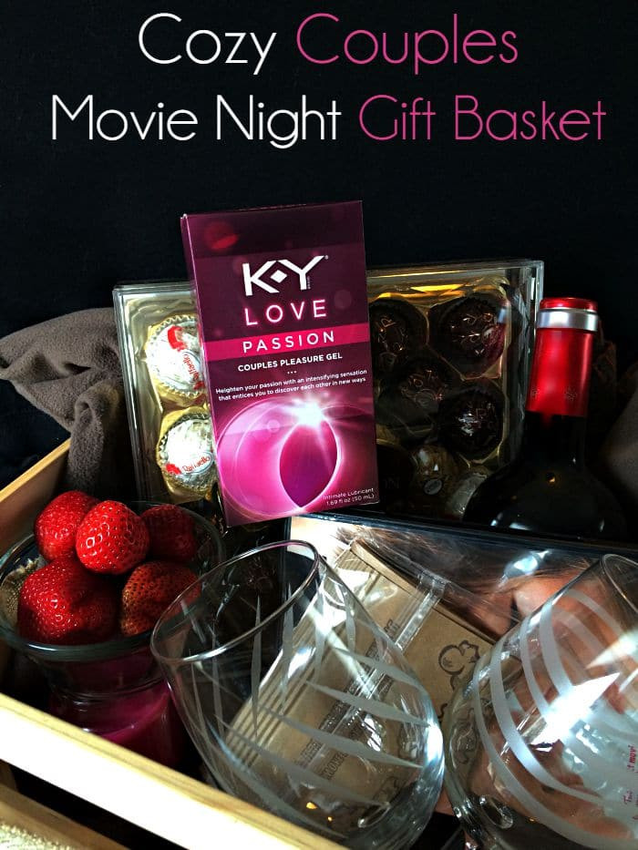 Couples Xmas Gift Ideas  Cozy Couples Movie Night Gift Basket Moments With Mandi