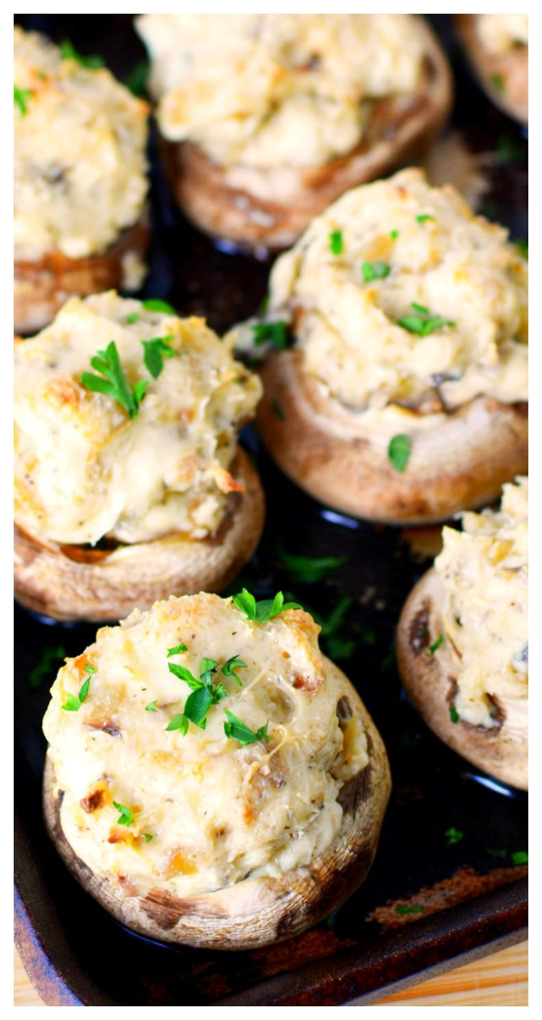 Cream Cheese Mushrooms  Stuffed Mushrooms with Cream Cheese