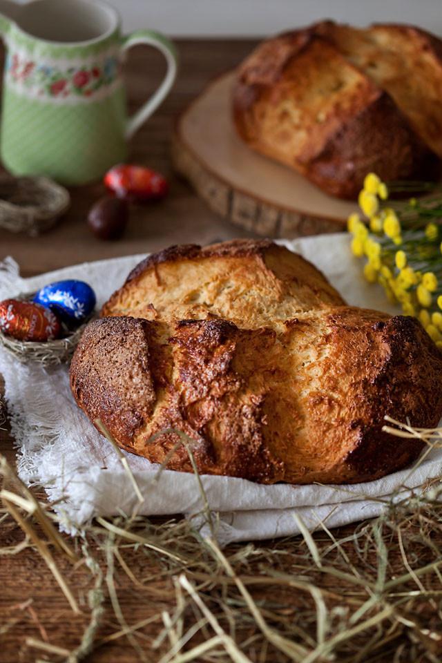 Croatian Easter Bread  Croatian sweet Easter bread Pinca Travelling oven