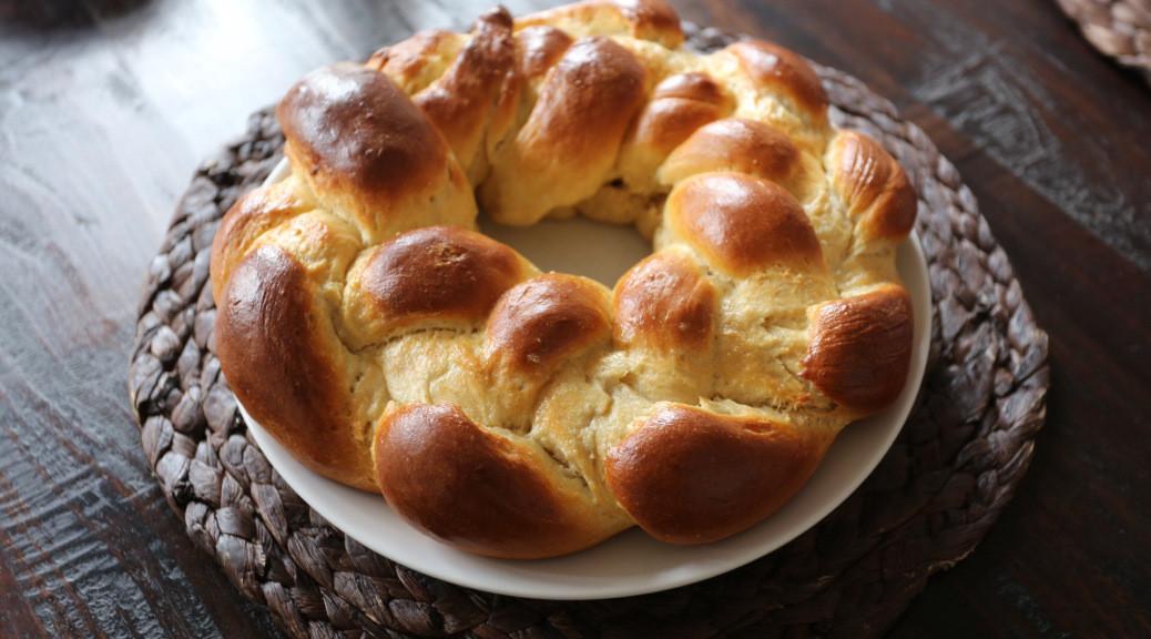 Croatian Easter Bread  Uskršnji kruh Easter bread