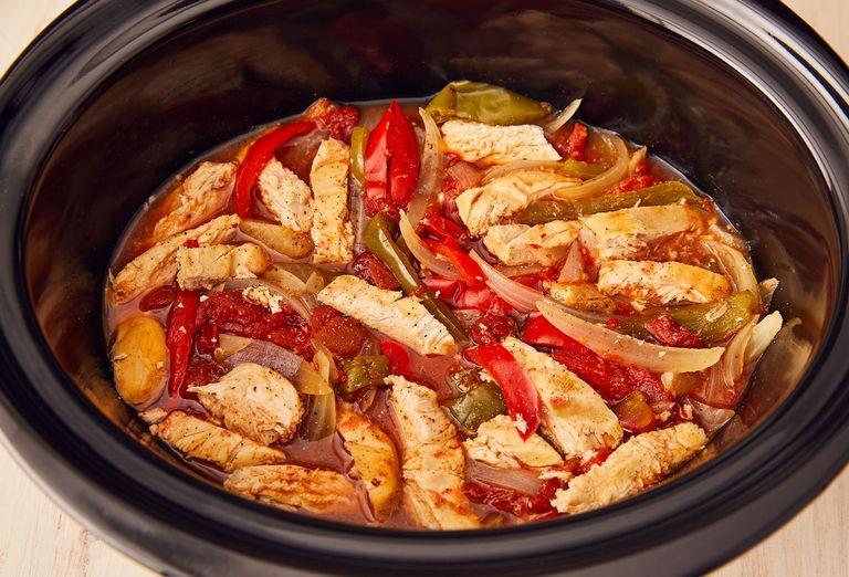 Crockpot Chicken Fajitas  Best Crockpot Chicken Fajitas How to Make Crockpot