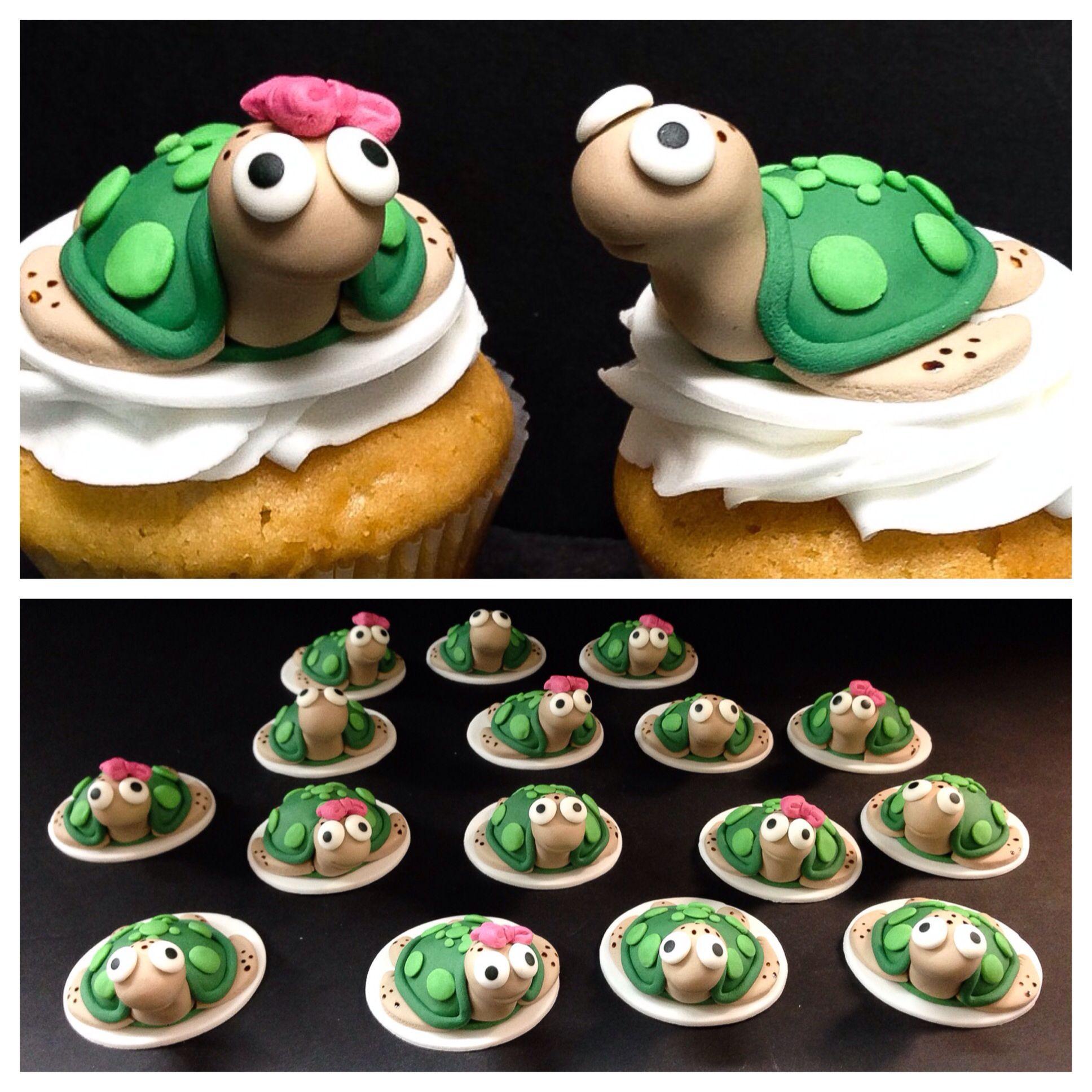 Cupcakes Winter Park  Turtle cupcakes from Sprinkles Custom Cakes in Winter Park