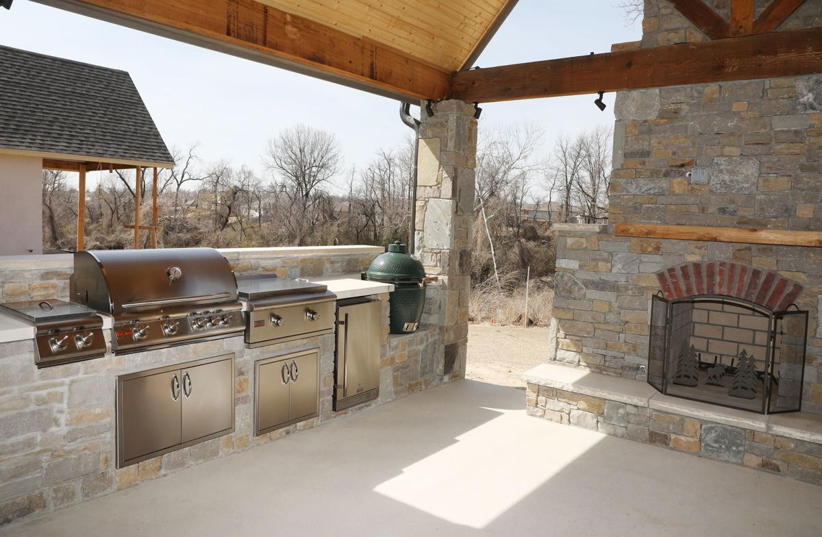 Custom Outdoor Kitchen  Add living space with a custom outdoor kitchen