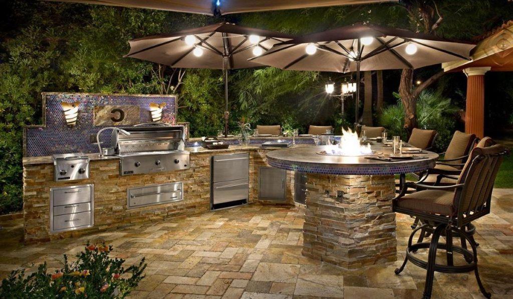 Custom Outdoor Kitchen  Outdoor Kitchens