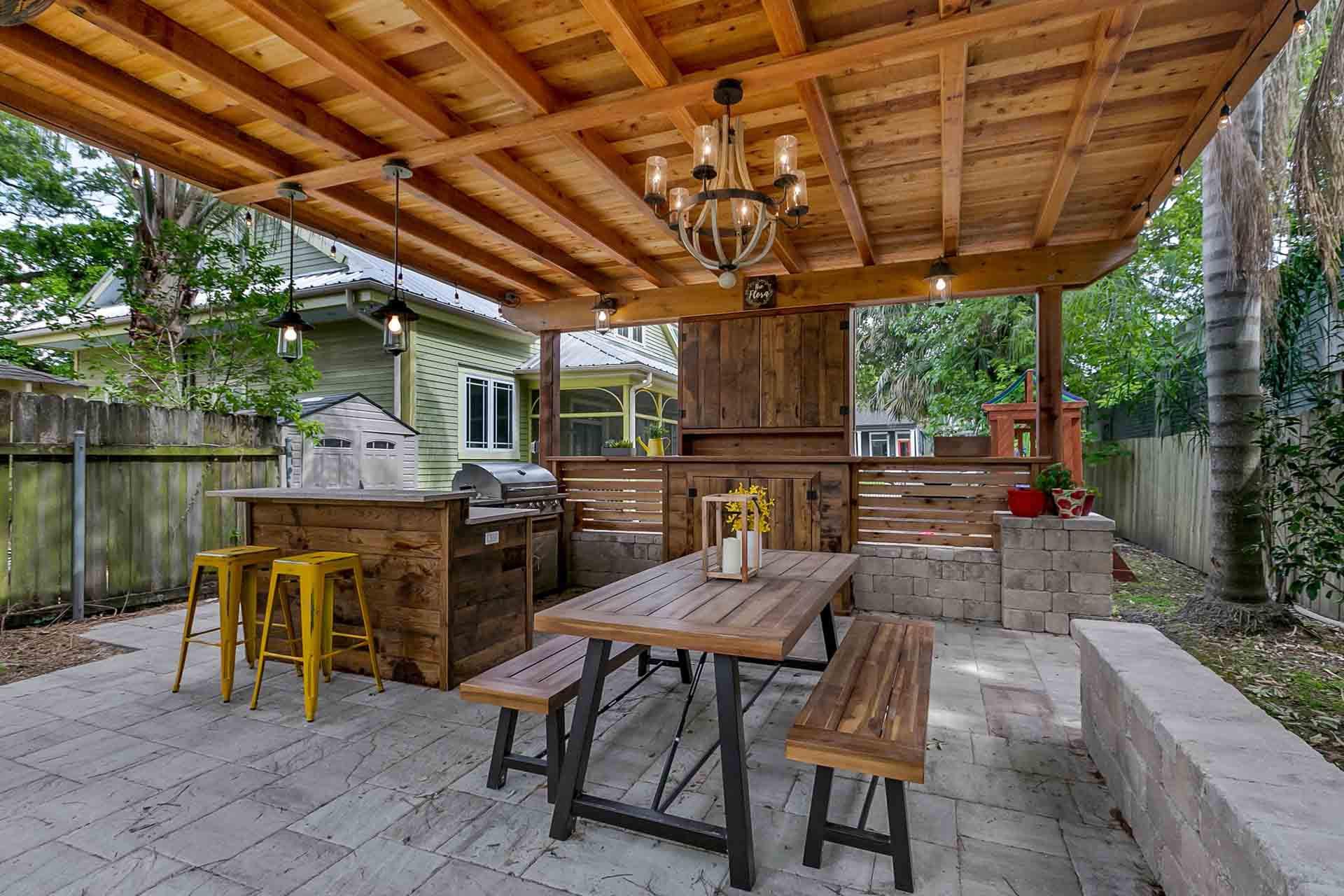 Custom Outdoor Kitchen  New Orleans Outdoor Kitchens Contractor