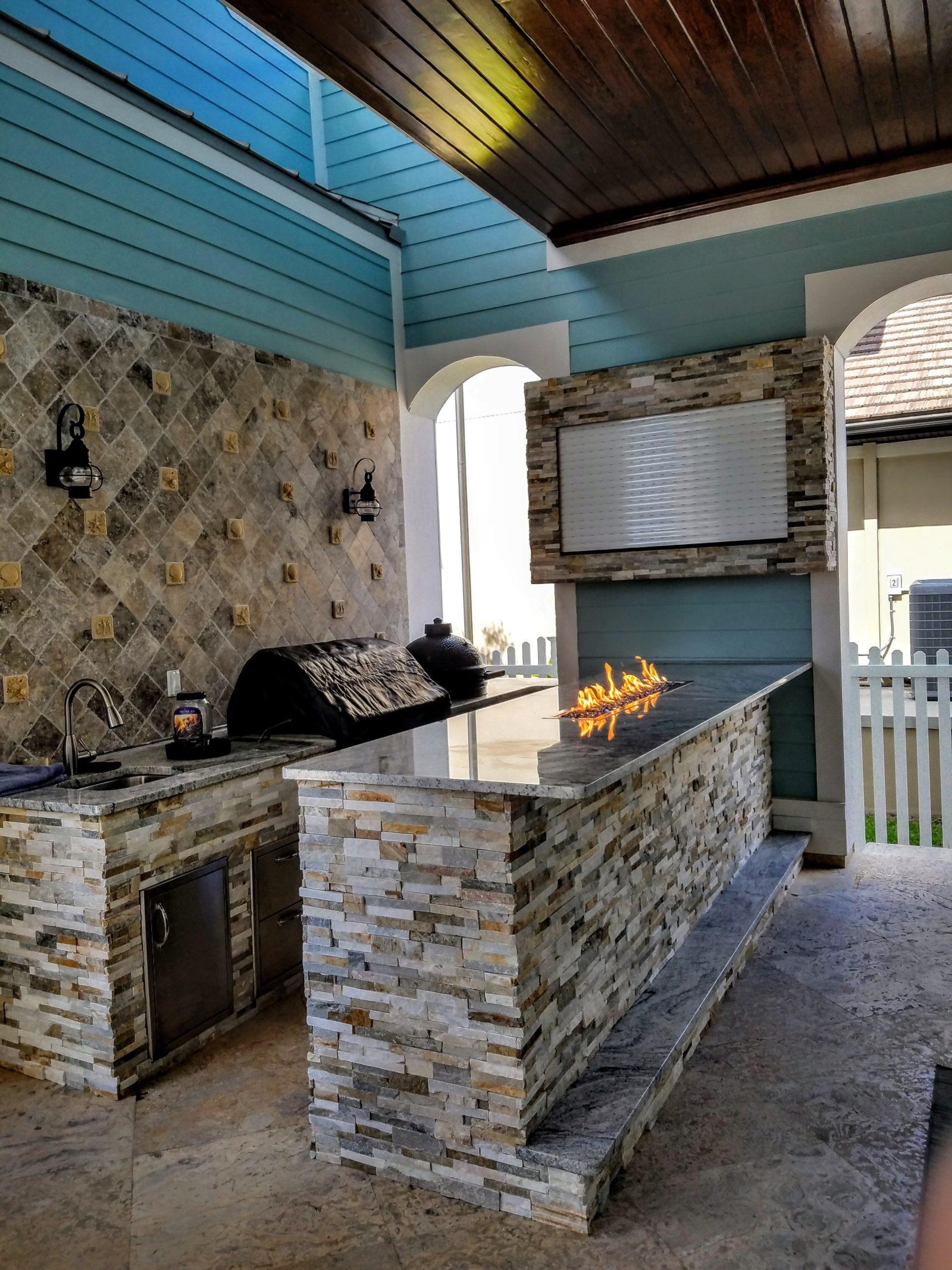 Custom Outdoor Kitchen  Outdoor Kitchen of the Month
