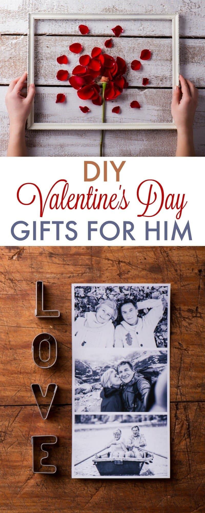 Cute Sentimental Gift Ideas For Boyfriend  DIY Valentine s Day Gifts for Boyfriend 730 Sage Street