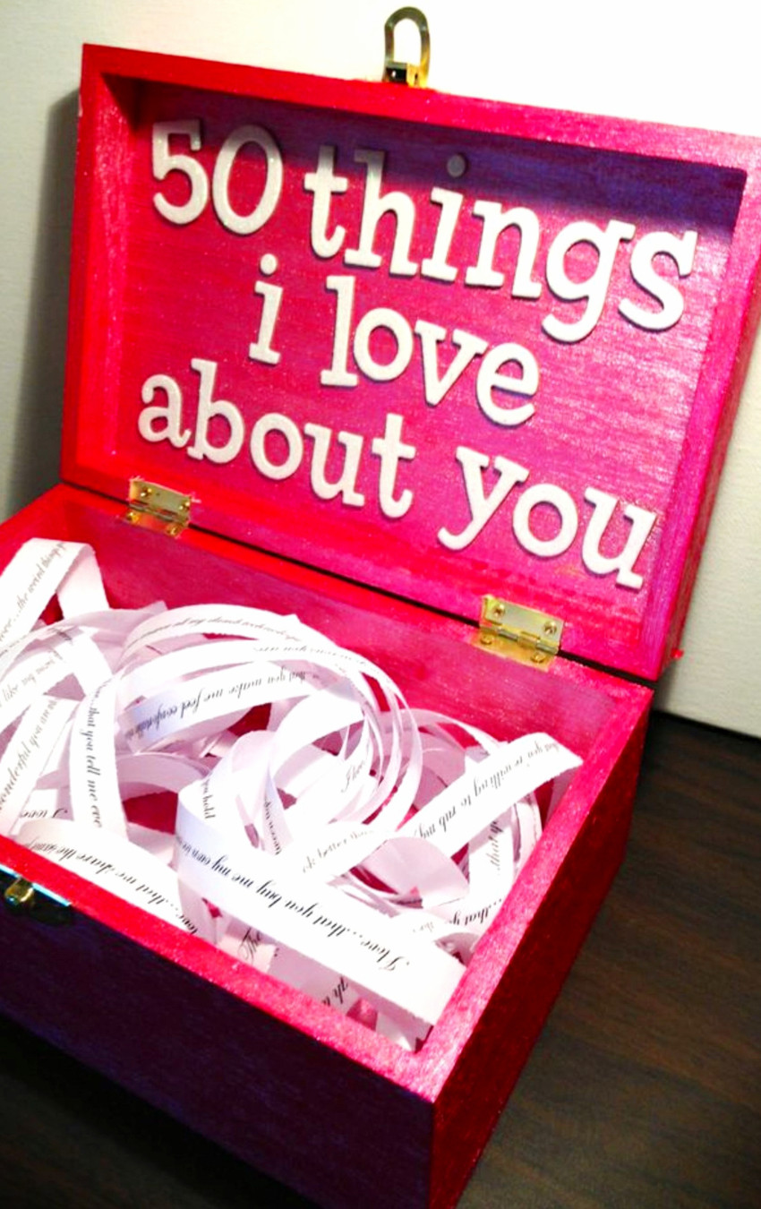 Cute Valentine Gift Ideas For Him  26 Handmade Gift Ideas For Him DIY Gifts He Will Love