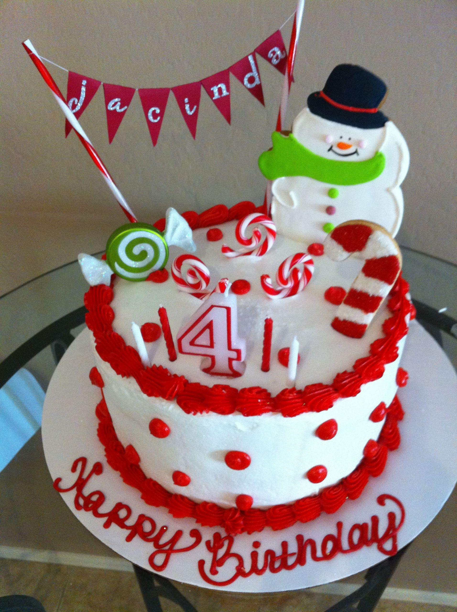 December Birthday Party Ideas  December Birthday Cake Parties Pinterest