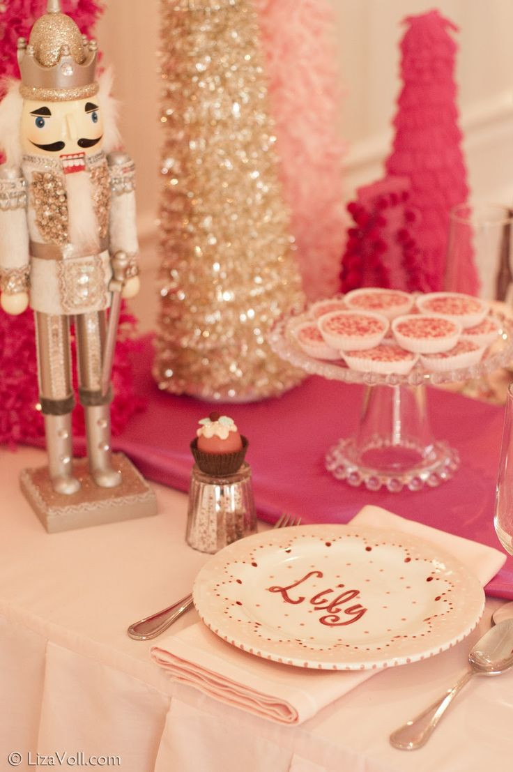December Birthday Party Ideas  A Nutcracker Suite Ballet Party Doing this for December