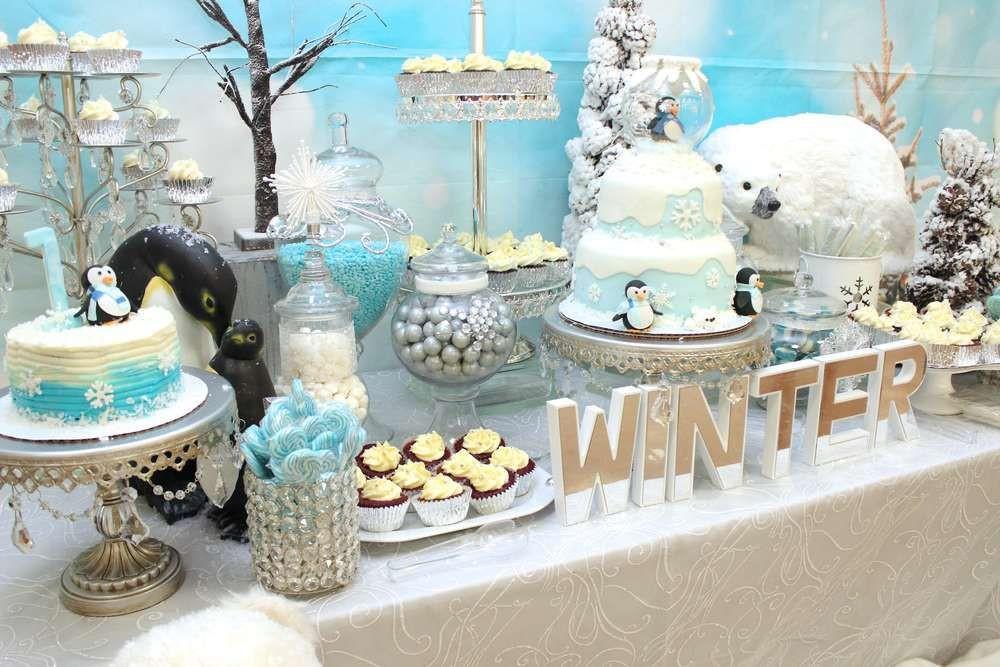 December Birthday Party Ideas  Winter ederland Birthday Party Ideas
