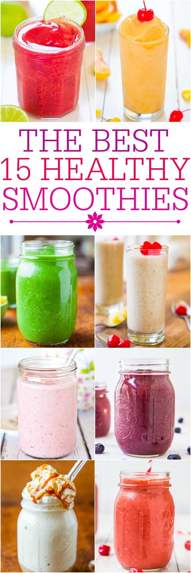 Delicious Smoothie Recipes  Frozen Fruit Smoothie with Yogurt 3 Ingre nts