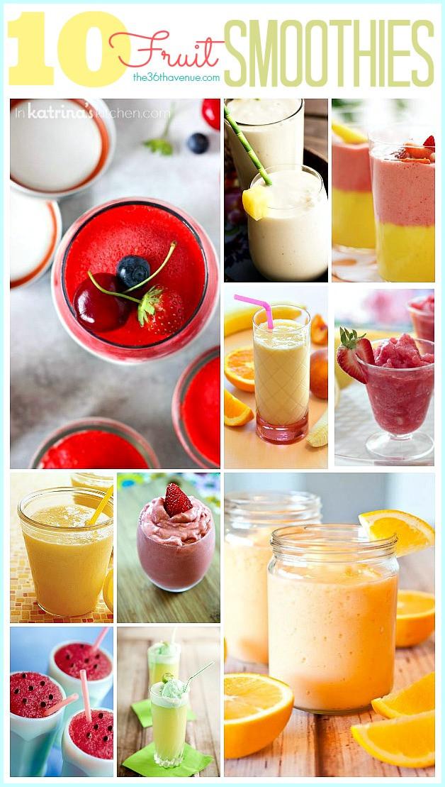 Delicious Smoothie Recipes  Smoothie Recipes