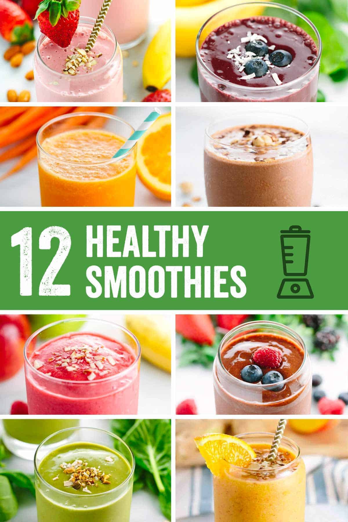 Delicious Smoothie Recipes  Roundup Easy Five Minute Healthy Smoothie Recipes