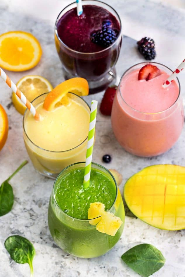Delicious Smoothie Recipes  5 Healthy & Delicious Detox Smoothies Video Life Made