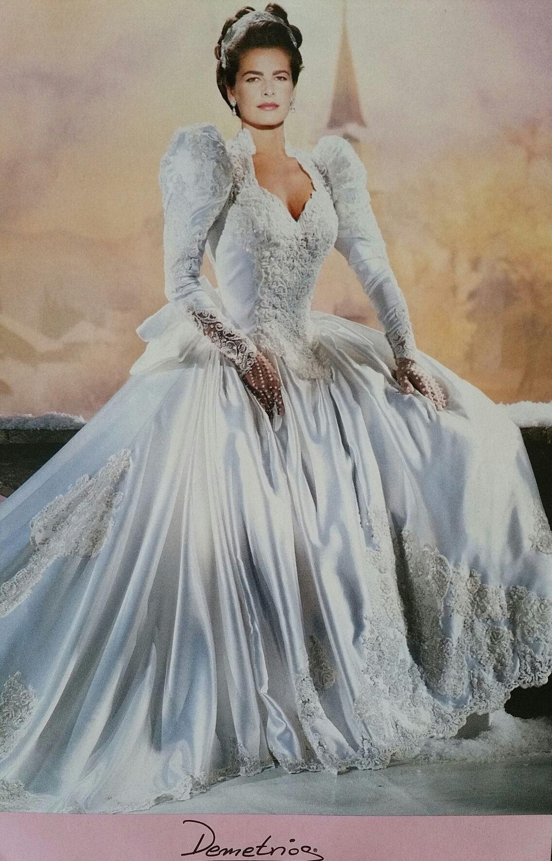 Demetrios Wedding Veils  Demetrios 1992