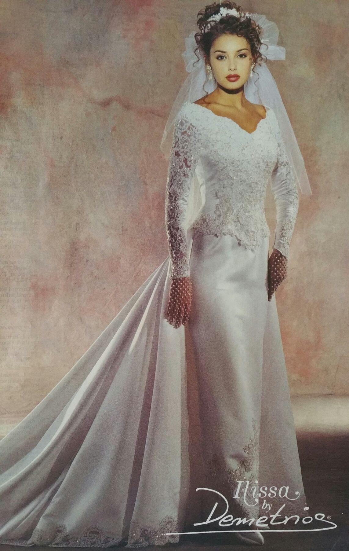 Demetrios Wedding Veils  Demetrios 1995 in Brides Magazine