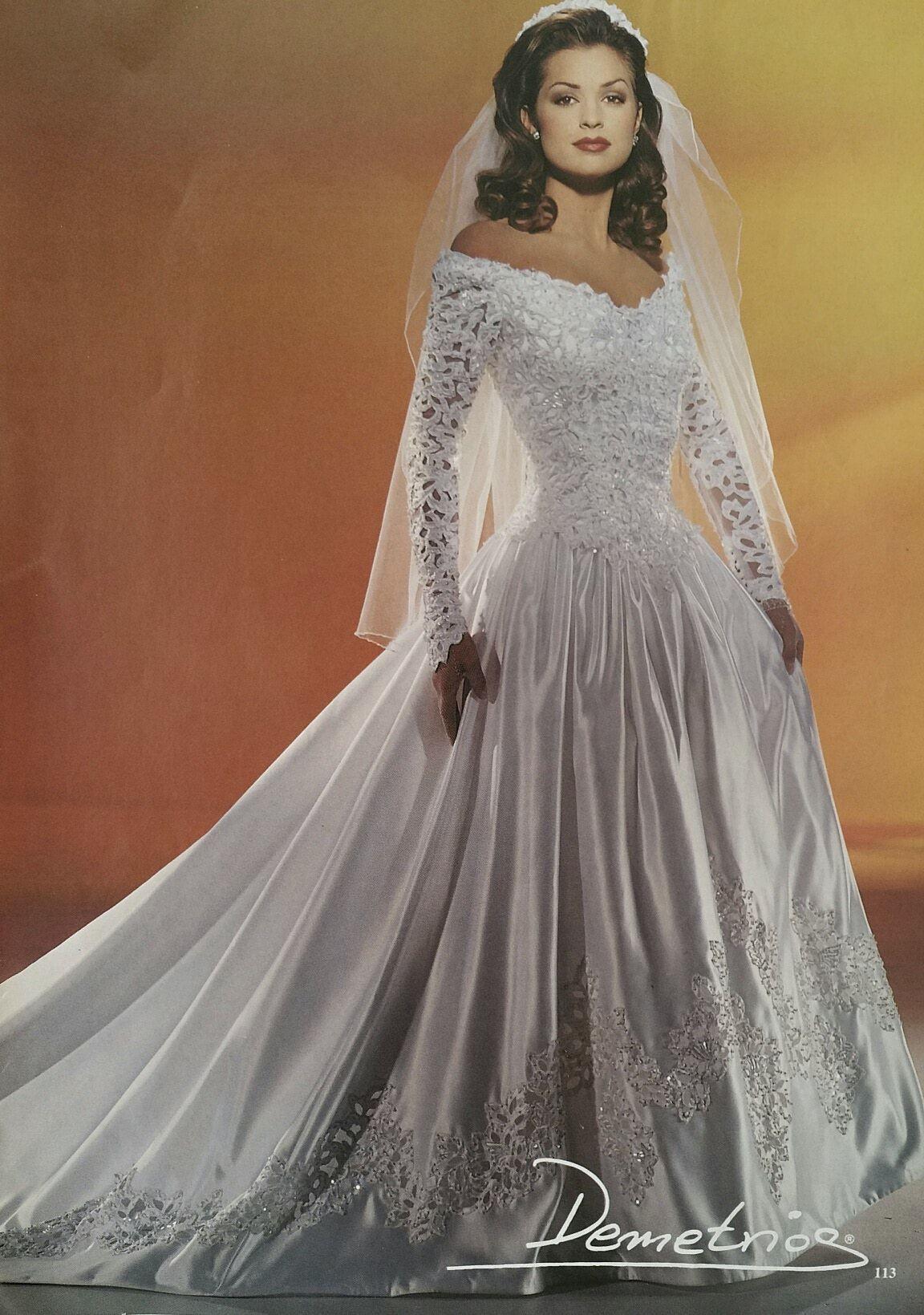 Demetrios Wedding Veils  Demetrios 1994 Demetrios 90 s collections