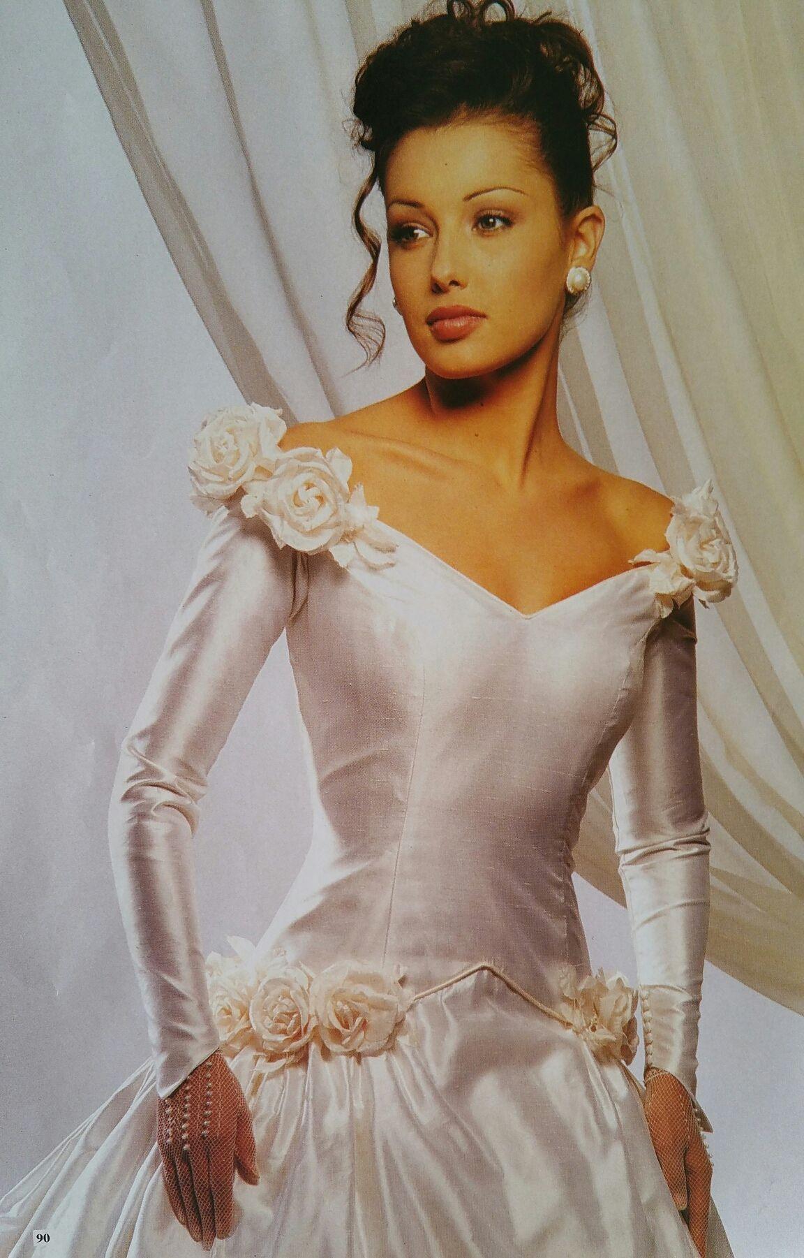 Demetrios Wedding Veils  Demetrios 1994 pure silk gown demetrios