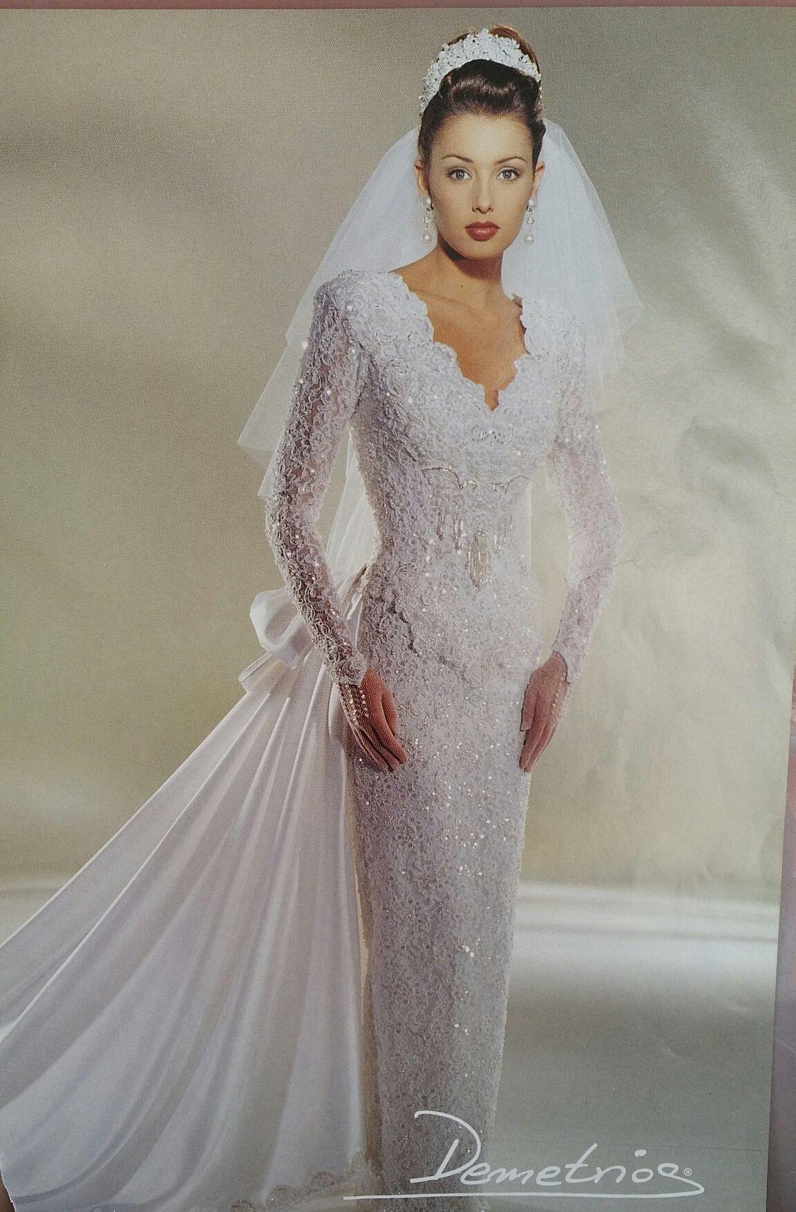 Demetrios Wedding Veils  Demetrios 1995