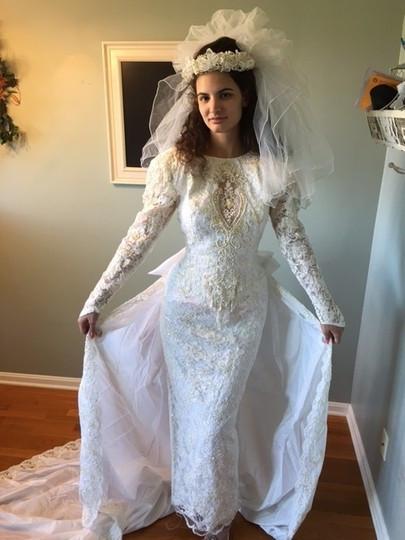 Demetrios Wedding Veils  Demetrios White Medium Bridal Veil Tradesy
