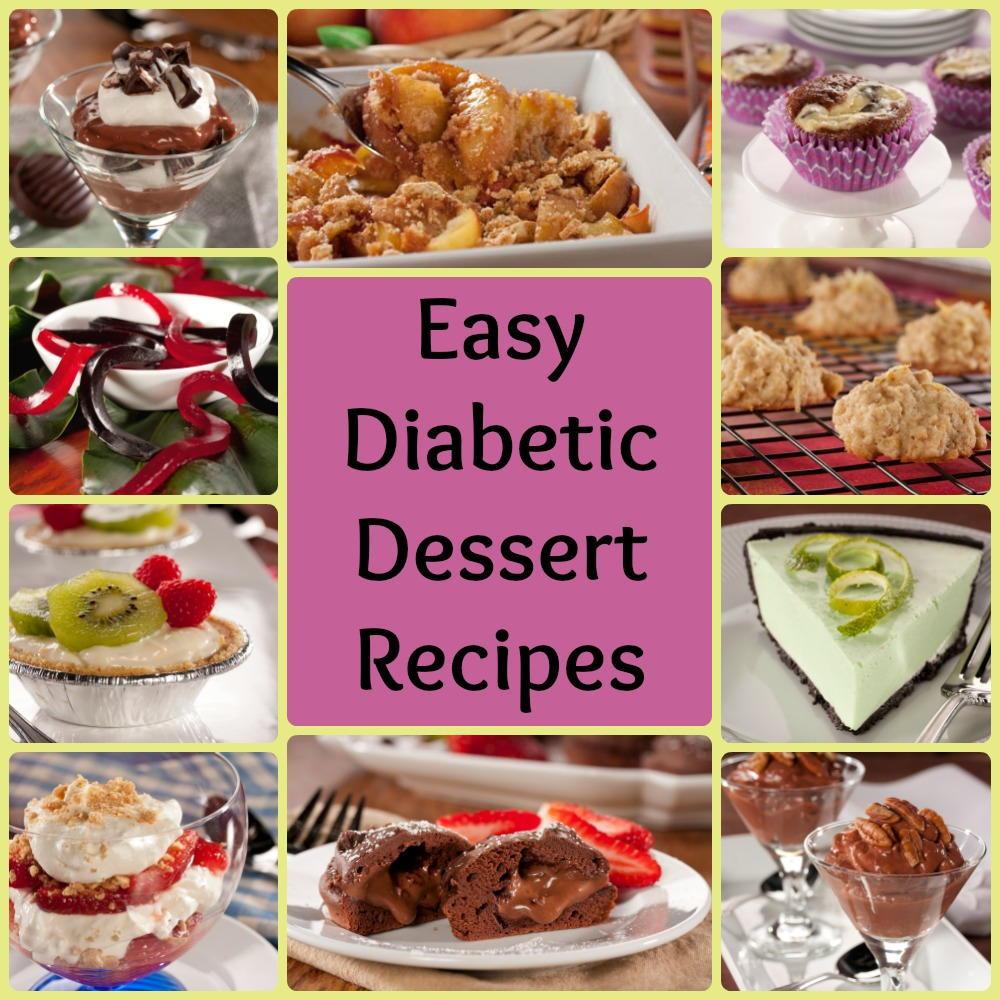 Desserts For Type 2 Diabetes  32 Easy Diabetic Dessert Recipes