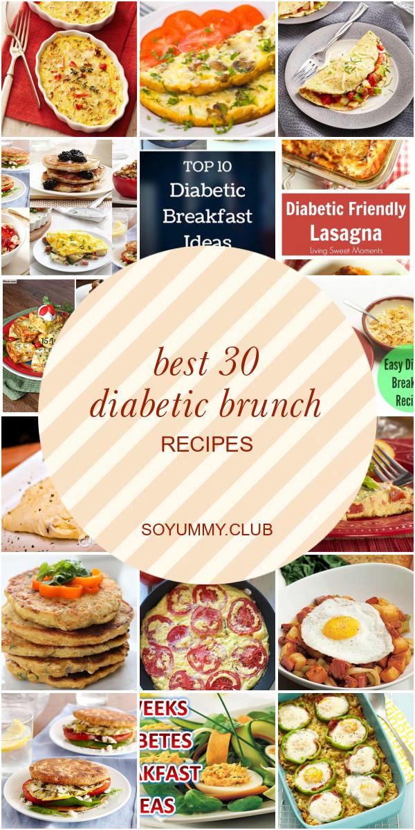 Diabetic Brunch Recipes  Best 30 Diabetic Brunch Recipes Best Round Up Recipe
