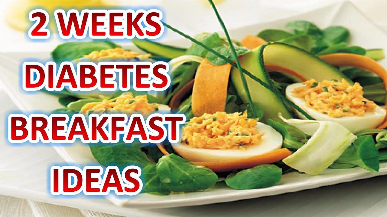 Diabetic Brunch Recipes  Diabetes Breakfast Ideas 2 Weeks Diabetes Breakfast