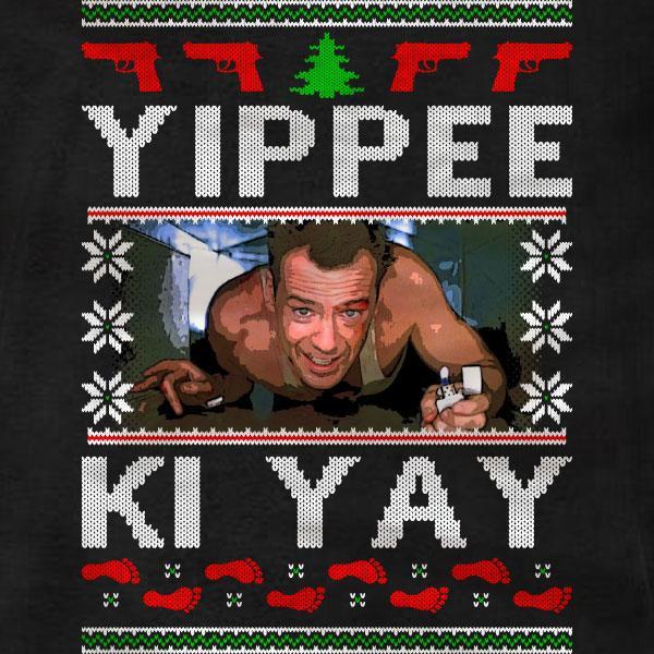 Die Hard Christmas Quotes  Die Hard Christmas Sweatshirt Absurd Ink