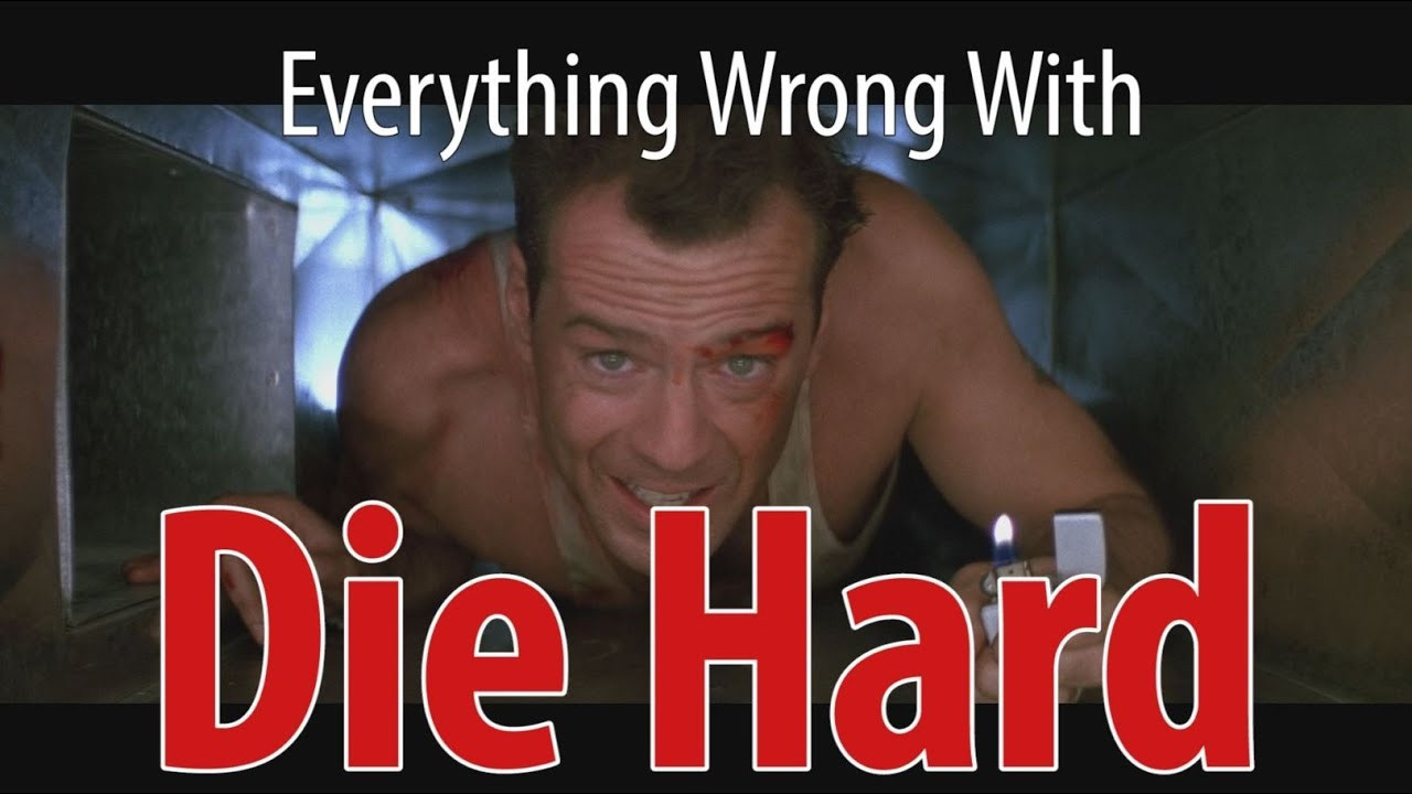 Die Hard Christmas Quotes  Everything Wrong With Die Hard In 7 Minutes Less