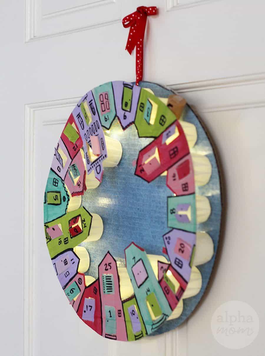 DIY Advent Calendars For Kids  DIY Advent Calendar Wreath for Kids