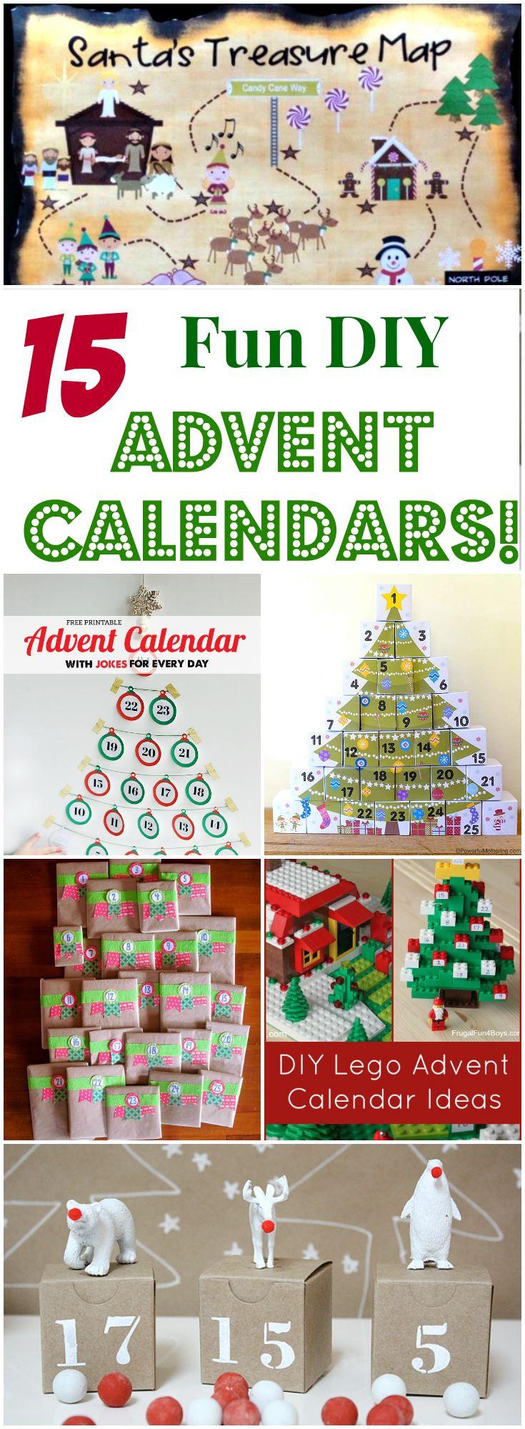 DIY Advent Calendars For Kids  15 Fun DIY Advent Calendars for Kids