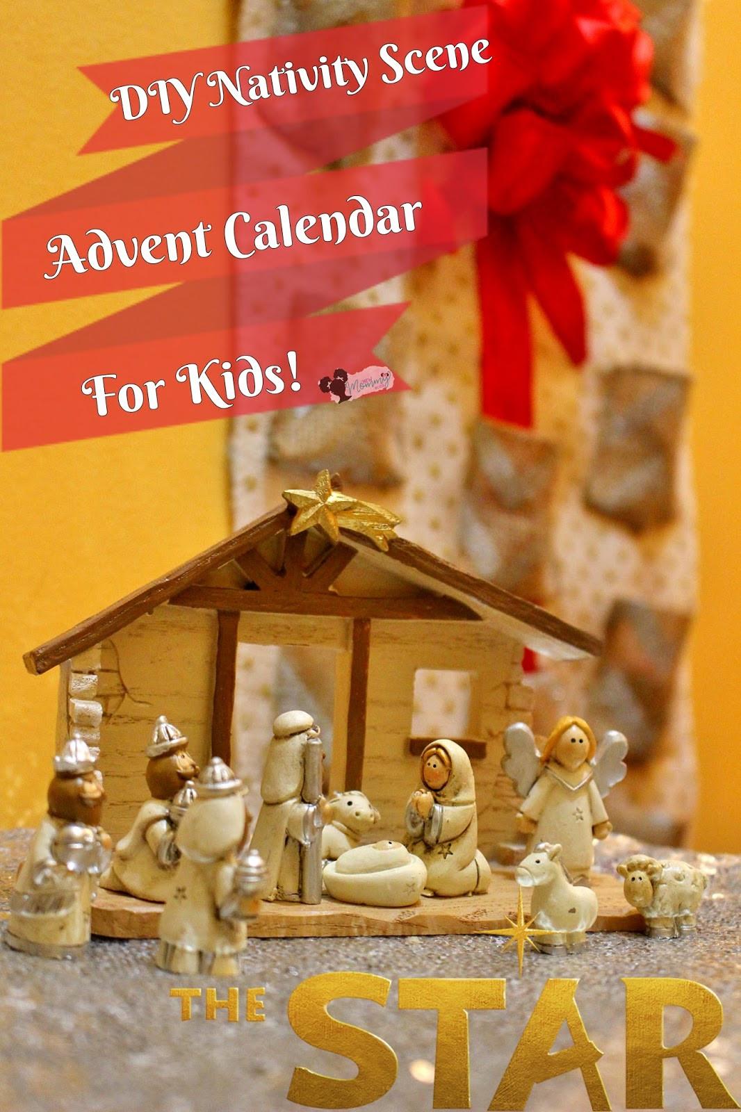 DIY Advent Calendars For Kids  DIY Nativity Advent Calendar For Kids TheStar New Mommy