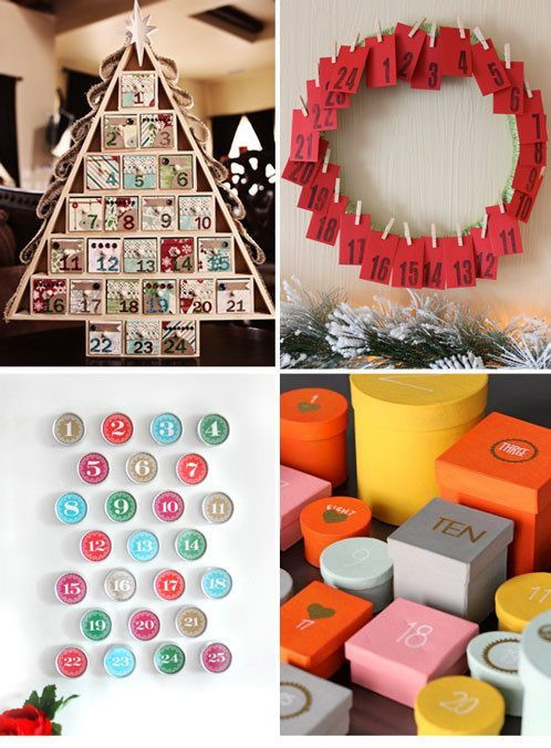 DIY Advent Calendars For Kids  12 DIY Advent Calendars to Make with Kids — Eatwell101