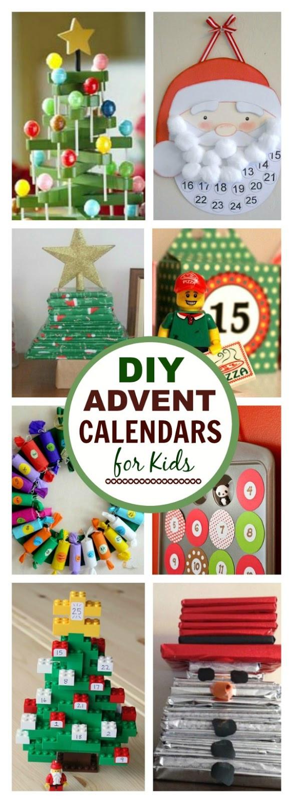 DIY Advent Calendars For Kids  Christmas Advent Calendars for Kids