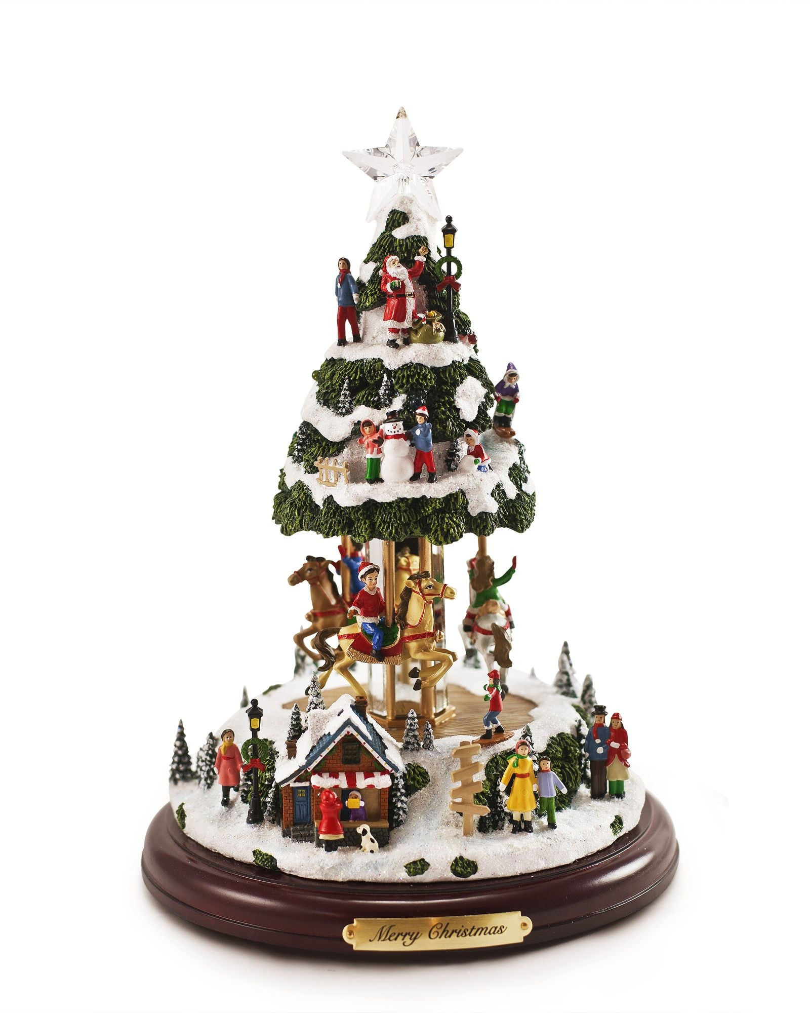 DIY Animated Christmas Decorations  Our Animated Musical Tree is a miniature Christmas village